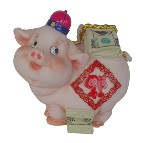 Polyresin Piggy Saving Bank