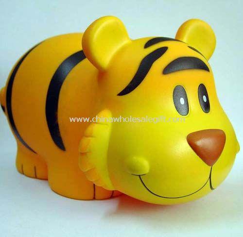 PVC Tiger-Shape Coin Bank