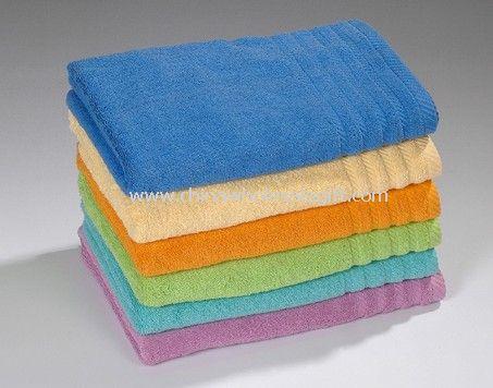 100% Cotton Plain Dyed Jacquard Towel