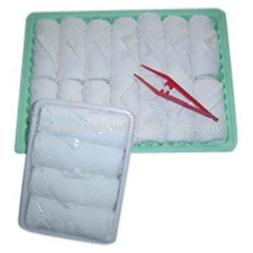 Disposable Airline Towel for Hotel and Flight
