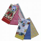100% Cotton Printed Tea Towel images