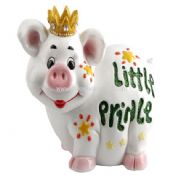 Polyresin Funny Piggy Money Bank images