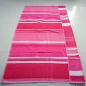 Velour Printed Beach Towel images