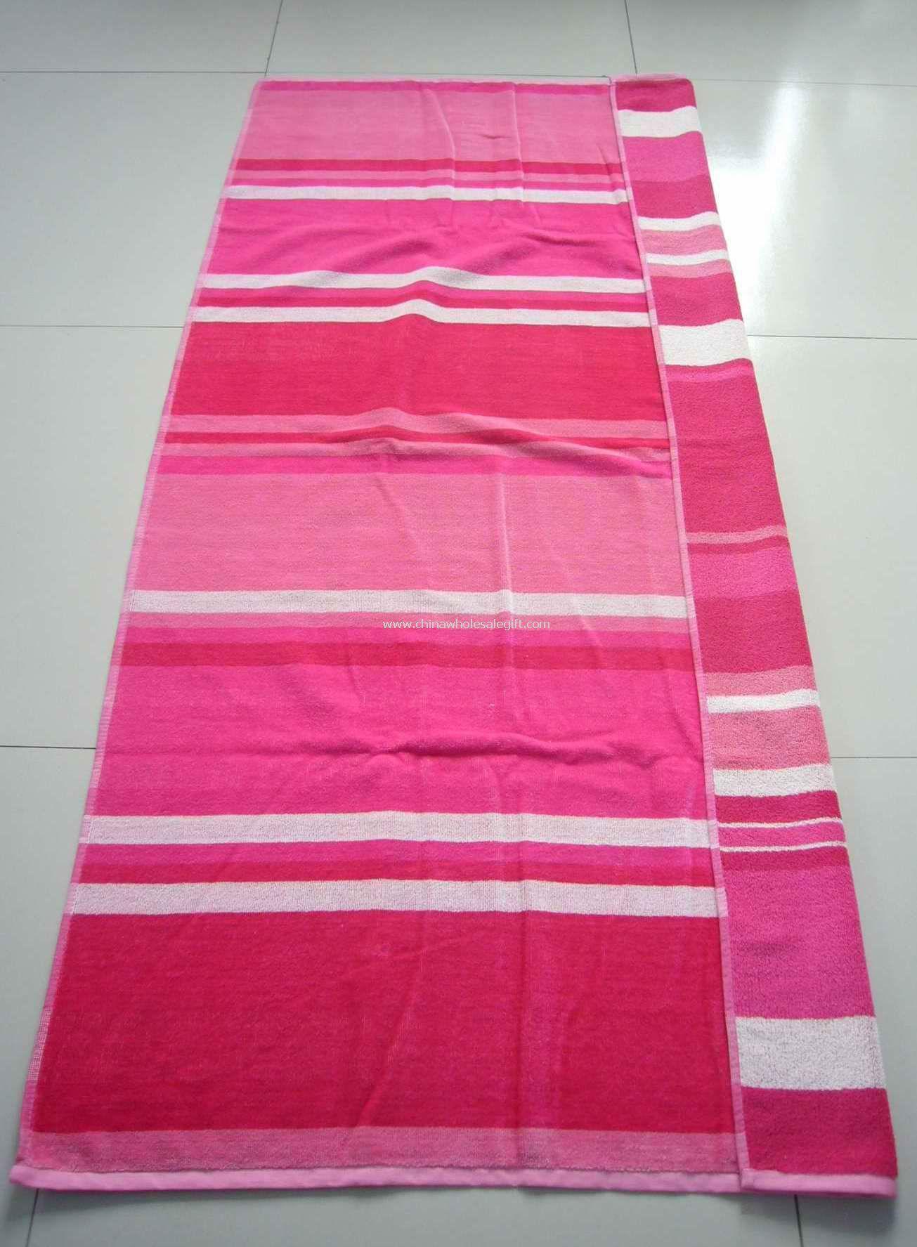 Velour Printed Beach Towel