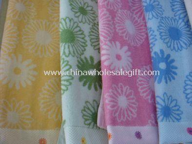 100% Cotton Yarn Dyed Bath Towels