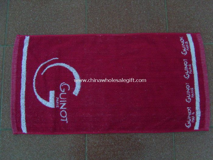 100% Cotton Yarn-Dyed Jacquard Face Towel