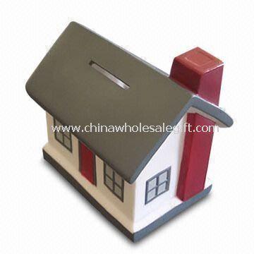 Ceramic House Saving Bank