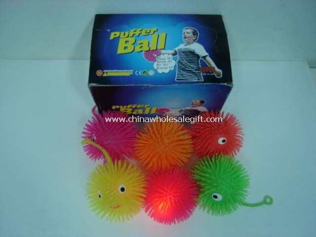 Flashing Puffer Ball