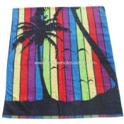 100% Cotton Jacquard Yarn-Dyed Beach Towel images