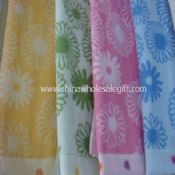 100% Cotton Yarn Dyed Bath Towels images