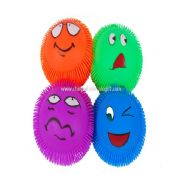 Puffer Ball with Smile Face images