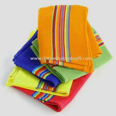 No-Terry Yarn Dyed Kitchen Towels