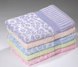 Yarn Dyed Jacquard Bath Towel