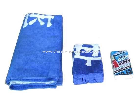 Compressed Beach Towel