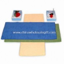 Spa Towel with Velour Finish images