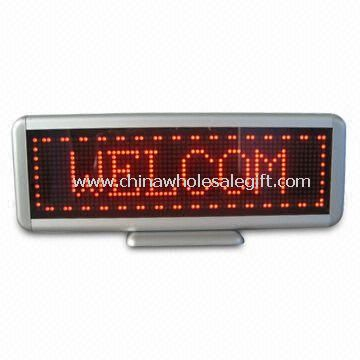 LED Table Style Moving Sign
