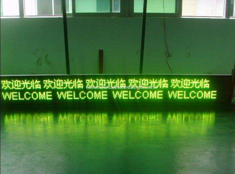 LED Three Color Scrolling Message Display Sign