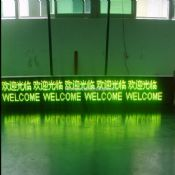 LED Three Color Scrolling Message Display Sign images