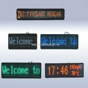 Outdoor LED Moving Sign Display images