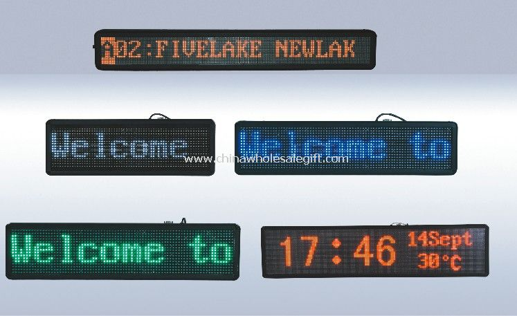 Outdoor LED Moving Sign Display