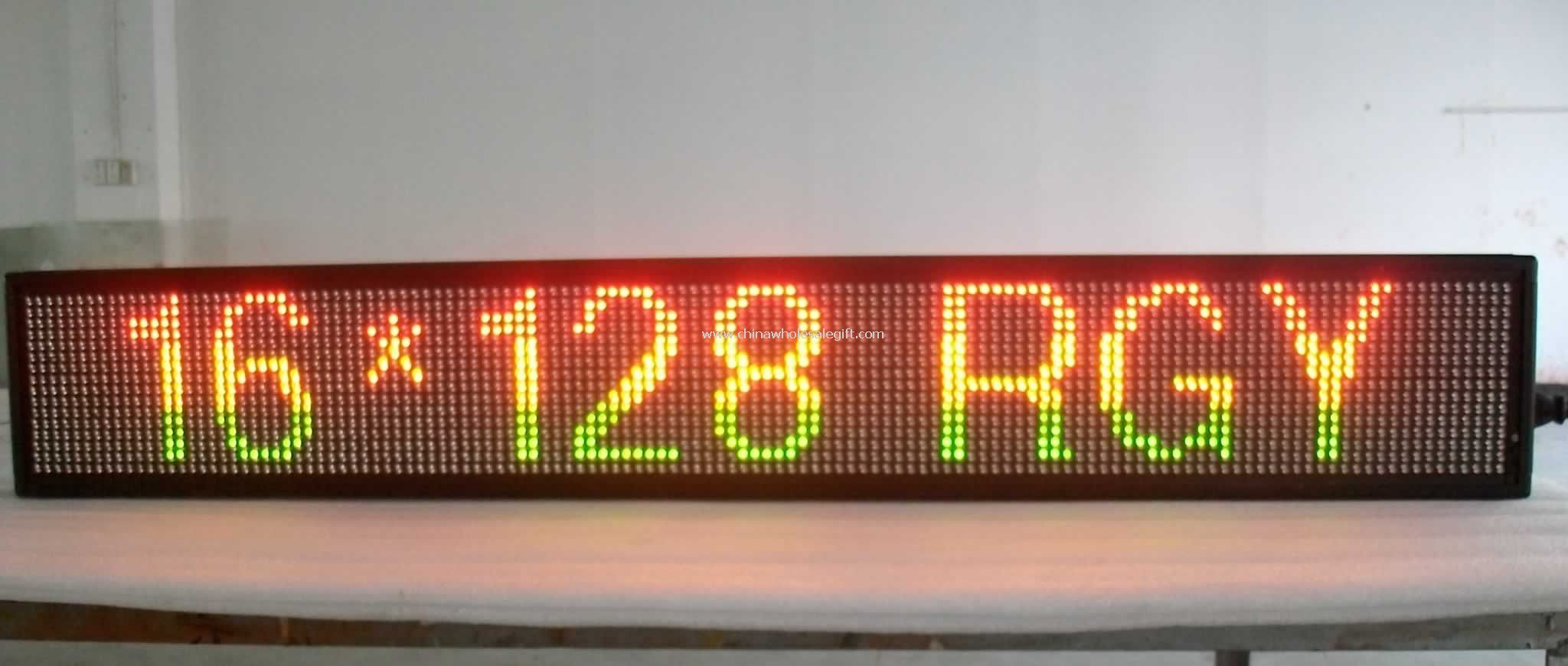 Programmable LED Scrolling Message Sign