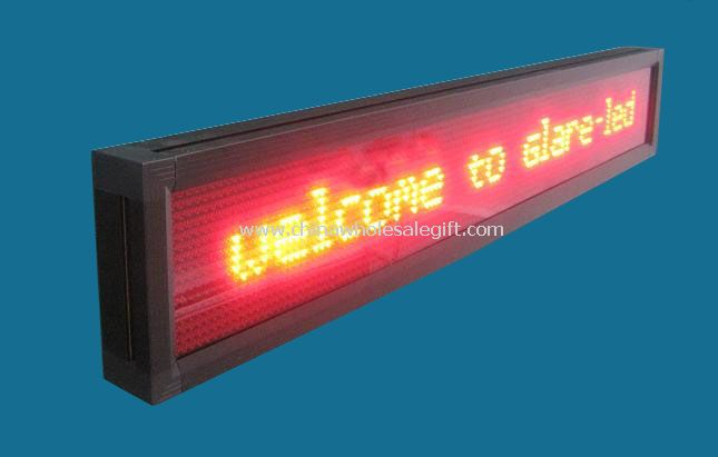 Semi-Outdoor LED Moving Sign