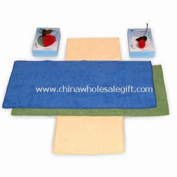 Spa Towel with Velour Finish
