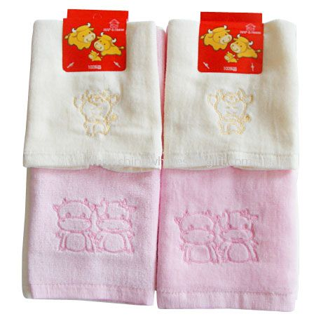 Velour Embroidery Towel Set