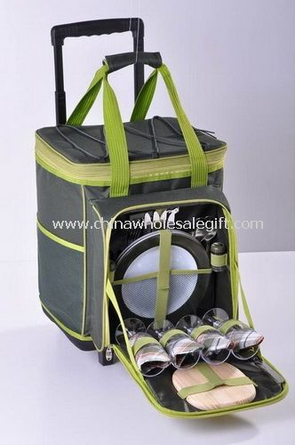4 Person Trolley Picnic Backpack