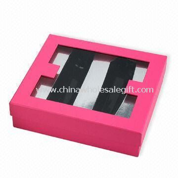 Cosmetic Box With Transparent Window