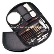 14 In 1 Makeup Kit & Manicure Set With PU Leather Pouch images