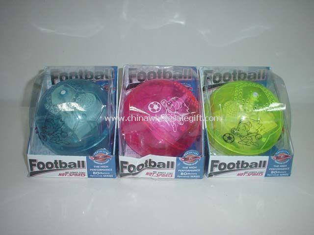Flashing Rolling Football