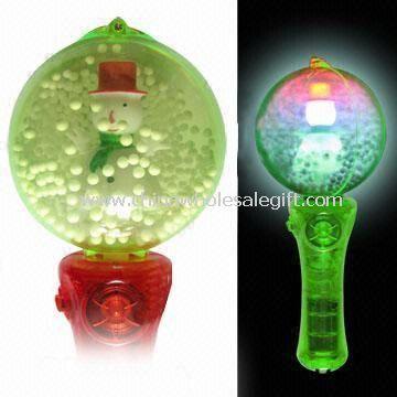 LED Snowman Flashing Ball