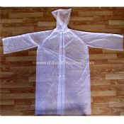 Disposable Raincoat With buttons images