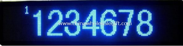 LED Message Sign with Blue Color images