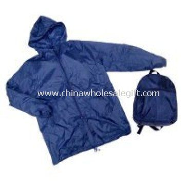 Nylon Backpack with raincoat