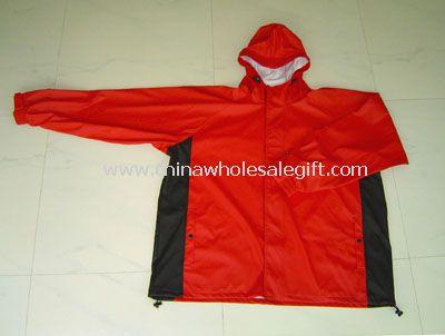PU Knit Rain Jacket