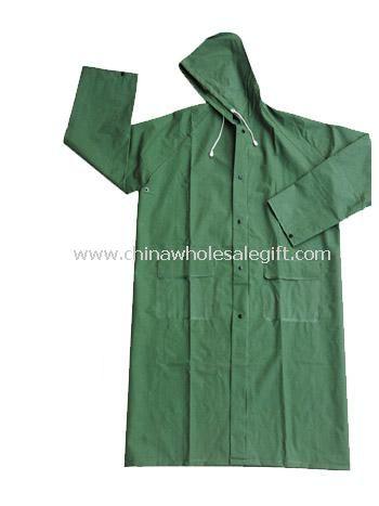 PVC Long Raincoat