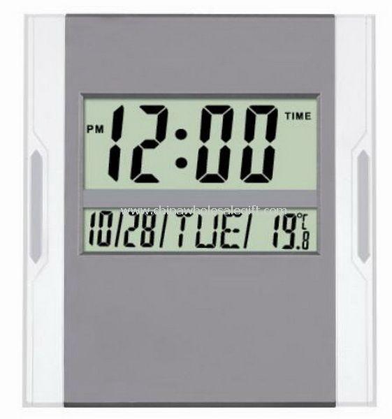 Digital Wall clock with big LCD display