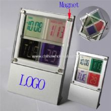 Colorful LCD Alarm Clock images