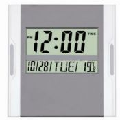 Digital Wall clock with big LCD display images