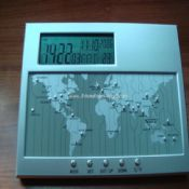 LCD Digital Clocks Shows World Time Zones images