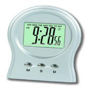 Table Alarm clock with transparent LCD display images