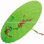 Hand Made Arts Umbrella Parasol With Bamboo Rib images