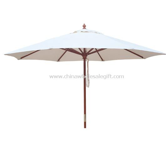 Wooden Garden Umbrella