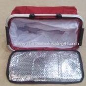 Aluminium foil on the cover Cooler Bag images