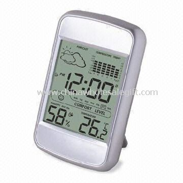 LCD Calendar Clock with Large Space for Printing