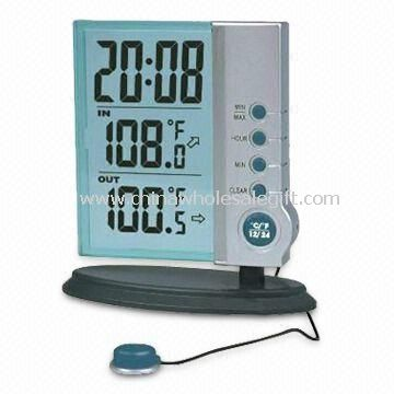 LCD Calendar Clock with Temperature and Alarm Functions