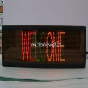 Indoor LED Message Sign images