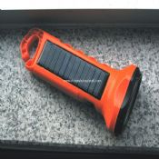 white LED Solar Flashlight images
